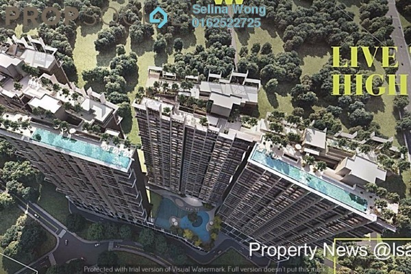 For Sale Serviced Residence at Nidoz Residences, Desa Petaling Leasehold Fully Furnished 4R/2B 734k