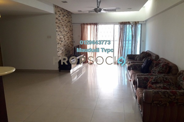 For Sale Condominium at Idaman Puteri, Setapak Freehold Fully Furnished 4R/3B 575k