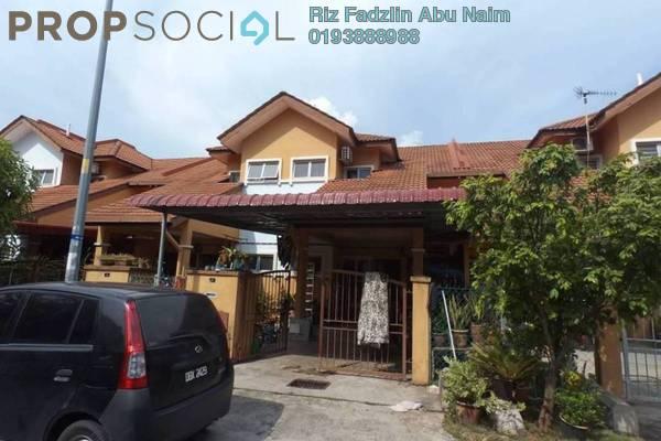 For Sale Terrace at Kampung Bukit Naga, Shah Alam Freehold Semi Furnished 4R/3B 420k