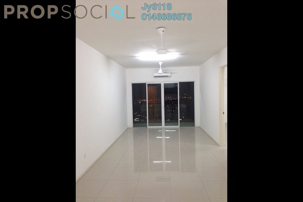 For Rent Condominium at 222 Residency, Setapak Freehold Semi Furnished 3R/2B 1.8k