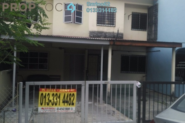 For Rent Terrace at Taman Permata, Wangsa Maju Freehold Semi Furnished 2R/2B 1.35k