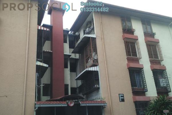 For Rent Condominium at Rampai Court, Setapak Freehold Unfurnished 2R/1B 1k