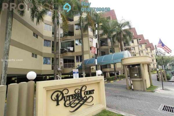 For Rent Condominium at Puteri Court, Ampang Freehold Fully Furnished 3R/2B 1.35k