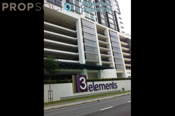 For Rent Condominium at 3 Elements, Bandar Putra Permai Freehold Semi Furnished 1R/1B 1k