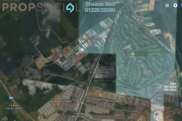 For Sale Land at Taman Kempas Utama, Johor Bahru Freehold Semi Furnished 0R/0B 40m