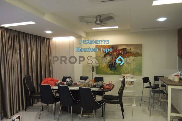 For Sale Duplex at Armanee Terrace I, Damansara Perdana Freehold Semi Furnished 5R/3B 900k
