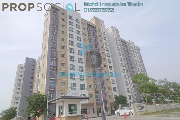 For Sale Apartment at Akasia @ Berjaya Park, Shah Alam Freehold Unfurnished 4R/2B 360k