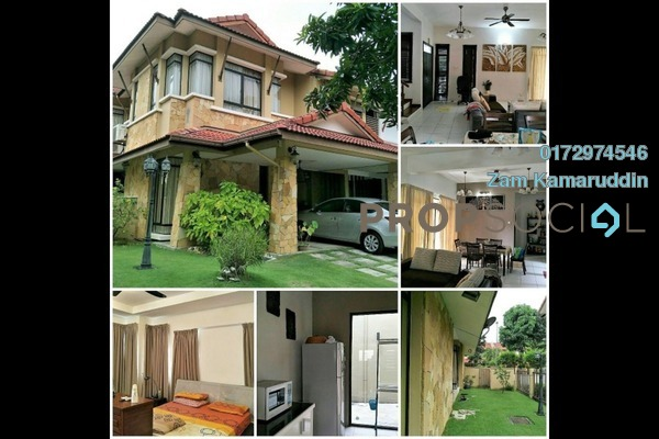 For Sale Semi-Detached at Glenmarie Cove, Port Klang Freehold Semi Furnished 5R/5B 950k