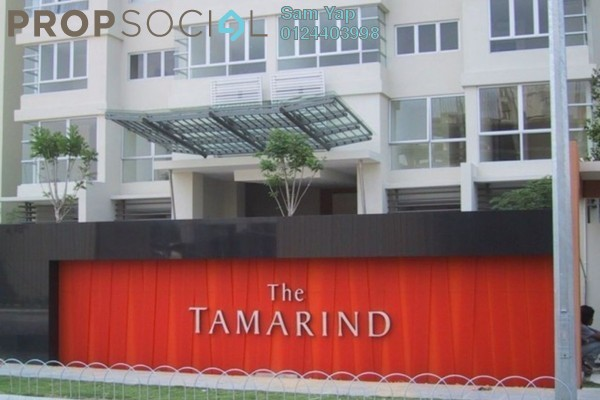 For Sale Condominium at The Tamarind, Sentul Freehold Fully Furnished 4R/3B 700k