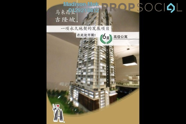 For Sale Condominium at The Manor, KLCC Freehold Semi Furnished 3R/3B 3.21m