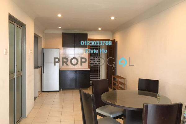 For Sale Apartment at Vistaria, Puchong Freehold Semi Furnished 3R/2B 285k