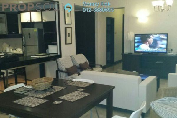 For Rent Condominium at Cendana, KLCC Freehold Fully Furnished 2R/3B 7k