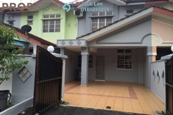 For Sale Terrace at Jalan Sungai Tiram, Ulu Tiram Freehold Semi Furnished 4R/3B 460k