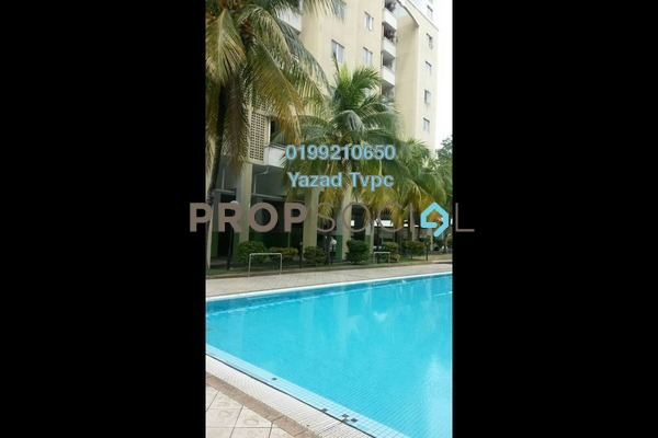For Rent Apartment at Aliran Damai, Cheras South Freehold Unfurnished 3R/2B 1.1k