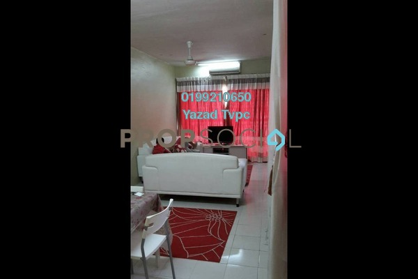 For Rent Apartment at Residensi Bistaria, Ukay Freehold Fully Furnished 3R/2B 1.4k