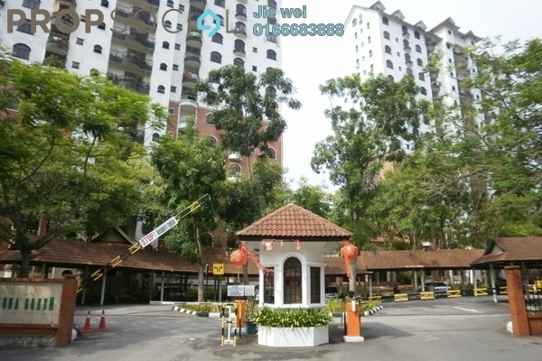 For Rent Condominium at Flora Green, Bandar Sungai Long Freehold Fully Furnished 3R/3B 3k