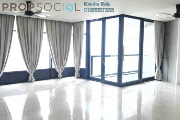 For Rent Condominium at The Troika, KLCC Freehold Semi Furnished 3R/4B 9k