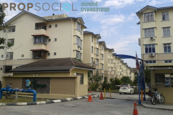 For Sale Apartment at Sri Kayangan Apartment, Ukay Freehold Unfurnished 3R/2B 290k