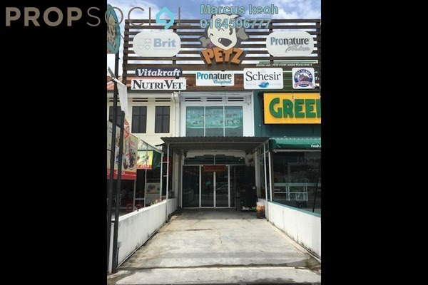 For Sale Shop at Jalan Air Itam, Air Itam Freehold Unfurnished 1R/1B 1.88m