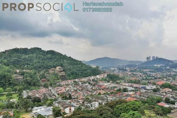 For Sale Condominium at Desa View Towers, Melawati Freehold Semi Furnished 4R/2B 299k