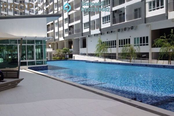 For Rent Condominium at Casa Tropika, Puchong Freehold Unfurnished 3R/2B 1.2k