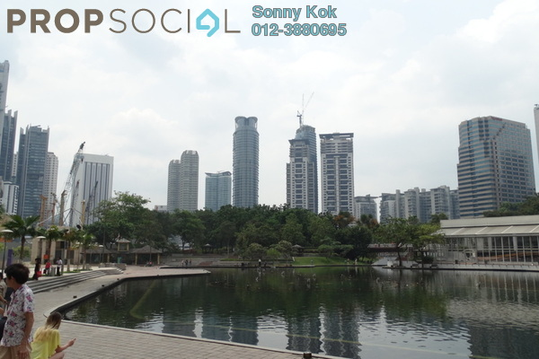 For Rent Condominium at K Residence, KLCC Freehold Semi Furnished 3R/3B 9.8千