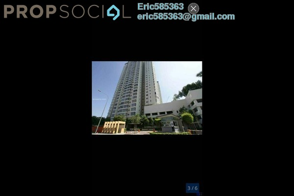 For Rent Condominium at The Tamarind, Sentul Freehold Fully Furnished 4R/3B 2.3k