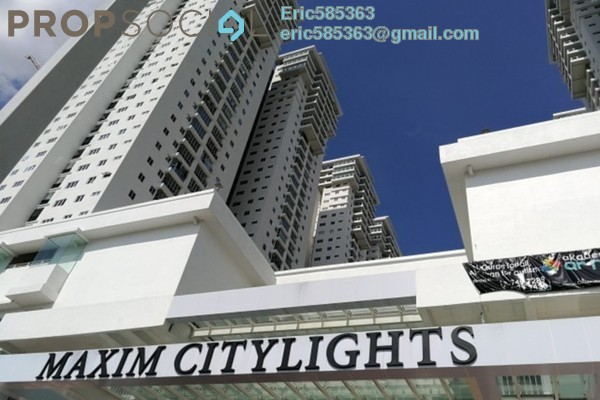 For Rent Serviced Residence at Maxim Citilights, Sentul Freehold Semi Furnished 3R/2B 1.5k