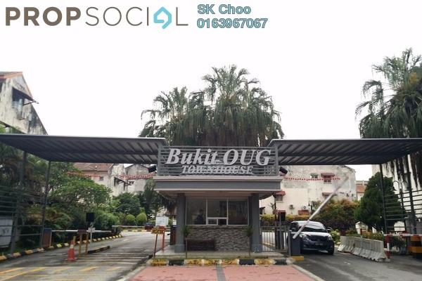 For Sale Townhouse at Bukit OUG Townhouse, Bukit Jalil Freehold Unfurnished 3R/3B 918k