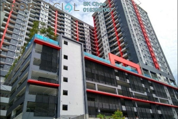 For Rent Condominium at D'Aman Residences, Puchong Freehold Semi Furnished 3R/2B 1.2k