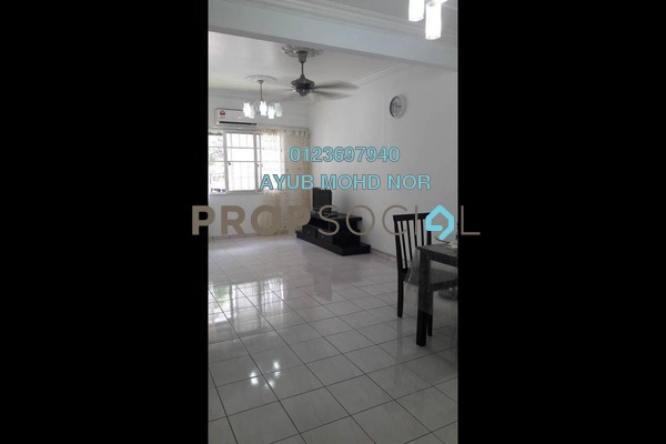For Rent Apartment at Cemara Apartment, Bandar Sri Permaisuri Freehold Semi Furnished 3R/2B 1.6k