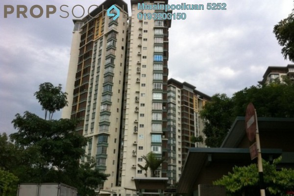 For Rent Condominium at Desa Putra, Wangsa Maju Freehold Semi Furnished 4R/2B 2.4k