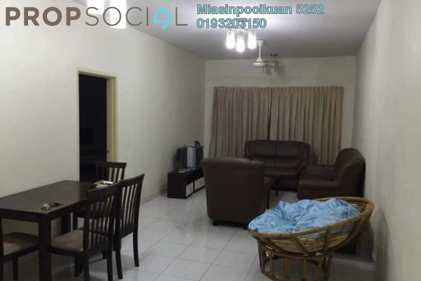 For Rent Condominium at Ampang Prima, Ampang Freehold Fully Furnished 3R/2B 1.5k