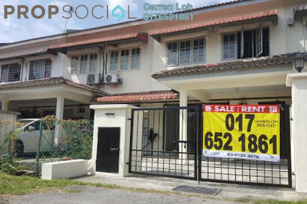 For Rent Terrace at Taman Kinrara, Bandar Kinrara Leasehold Semi Furnished 3R/2B 1.2k