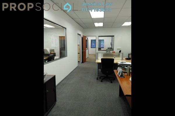 For Rent Office at Perdana Business Centre, Damansara Perdana Freehold Semi Furnished 0R/0B 2.3k