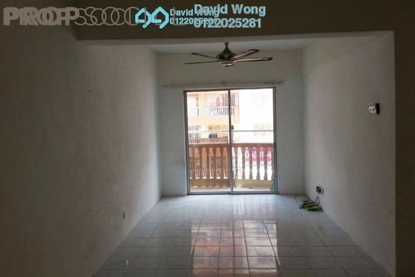For Rent Apartment at Sri Ria Apartment, Kajang Freehold Semi Furnished 3R/2B 1k