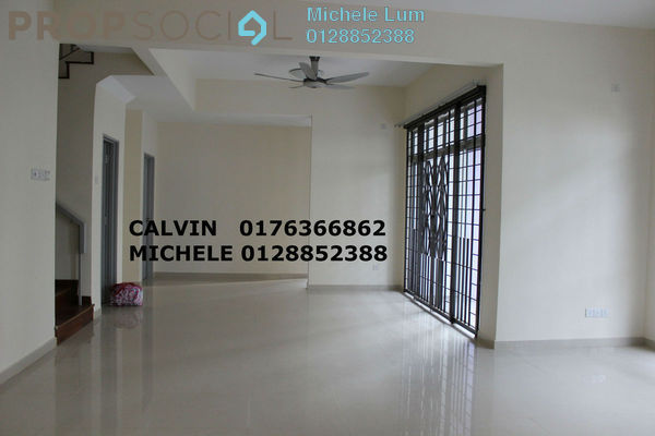For Rent Semi-Detached at Precinct 15, Putrajaya Freehold Semi Furnished 5R/5B 3.2k