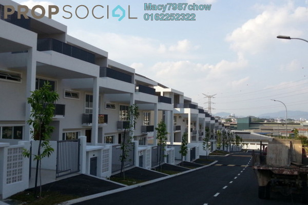 For Rent Terrace at KYK Heights, Balakong Freehold Unfurnished 5R/5B 1.8k