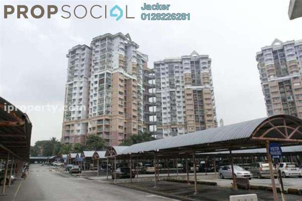 For Rent Condominium at Menara Alpha, Wangsa Maju Freehold Semi Furnished 3R/2B 1.4k