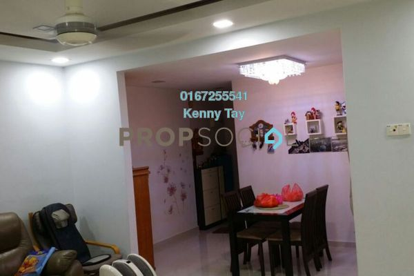 For Rent Condominium at Prima Tiara 2, Segambut Freehold Semi Furnished 3R/2B 1.6k