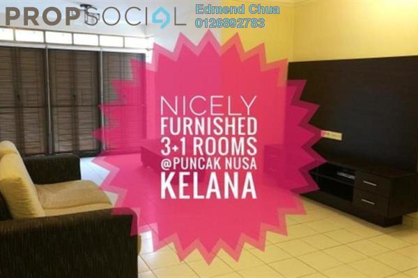 For Sale Condominium at Puncak Nusa Kelana, Ara Damansara Freehold Semi Furnished 3R/2B 720k