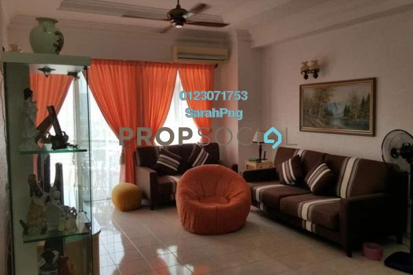 For Sale Condominium at Coastal Towers, Tanjung Bungah Freehold Fully Furnished 3R/2B 628k