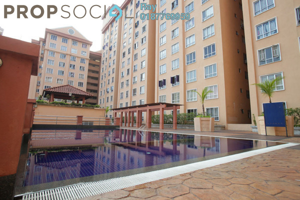 For Rent Condominium at Laman Midah, Cheras Freehold Semi Furnished 3R/2B 1.5k