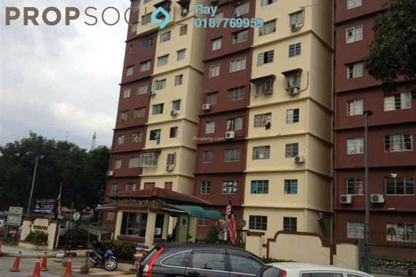 For Rent Condominium at Cemara Apartment, Bandar Sri Permaisuri Freehold Fully Furnished 3R/2B 1.5k