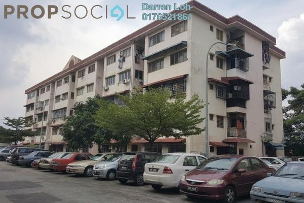 For Sale Apartment at Taman Kinrara, Bandar Kinrara Freehold Semi Furnished 3R/2B 206k