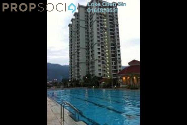 For Rent Condominium at Taman Kristal, Tanjung Tokong Freehold Fully Furnished 3R/2B 1.25k
