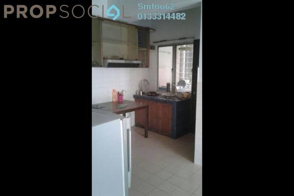 For Rent Condominium at Teratai Mewah Apartment, Setapak Freehold Semi Furnished 3R/1B 1.1k