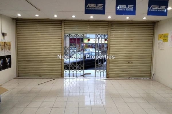 For Rent Shop at Ridgewood @ Taman Bercham Permai, Ipoh Leasehold Unfurnished 0R/2B 1.5k