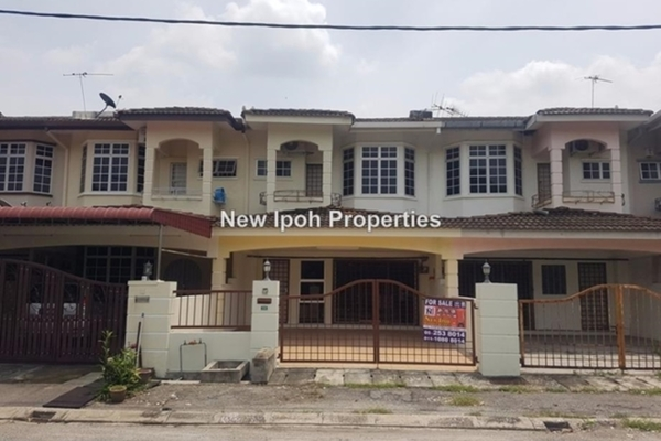 For Sale Terrace at Anjung Bercham Megah, Ipoh Leasehold Unfurnished 3R/3B 268k