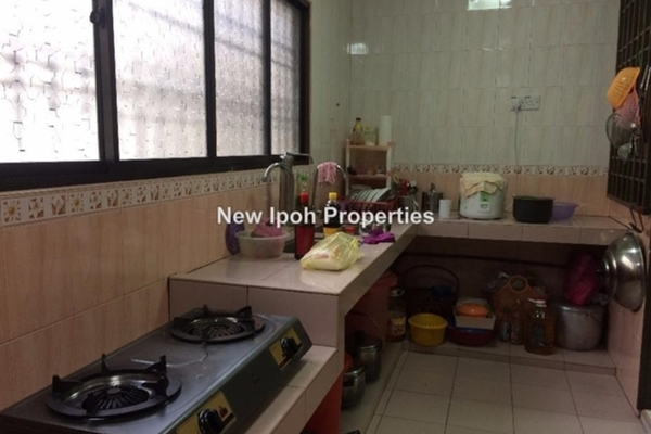 For Sale Terrace at Kampung Paya, Ipoh Leasehold Fully Furnished 2R/0B 212k